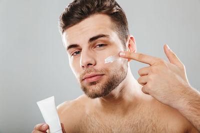 Huidverzorging voor mannen Apotheek Aelbers Stokkem