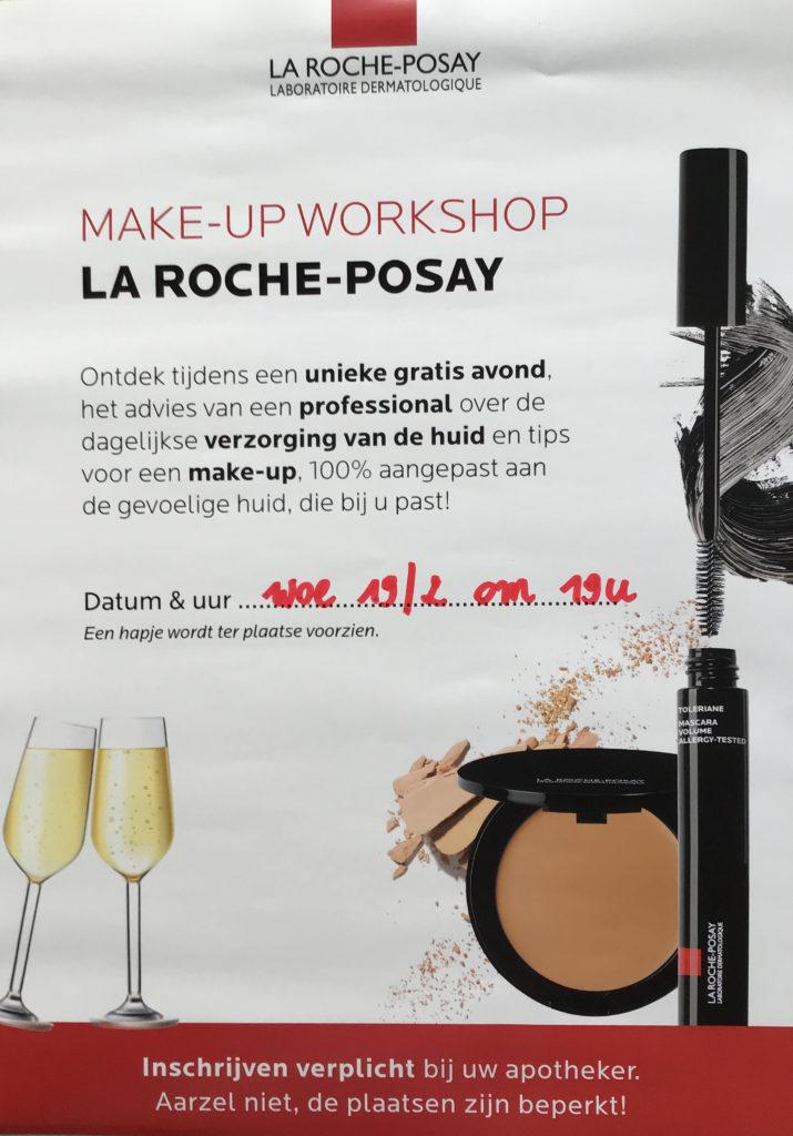 MAKE-UP WORKSHOP La roche-posay